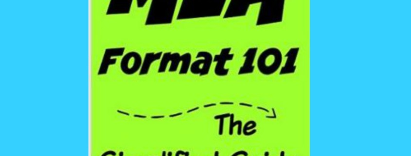 What is MLA format? Can you simplify it for me?